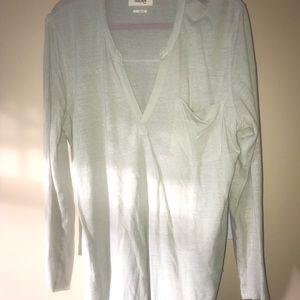 Tna Light green long sleeve shirt